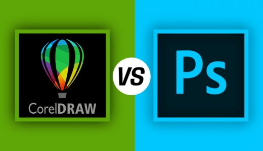 CorelDraw vs Photoshop